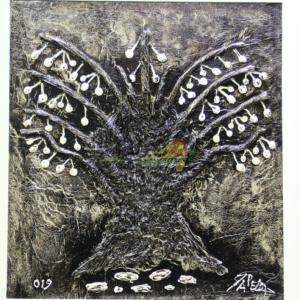 pape diop baobab peinture
