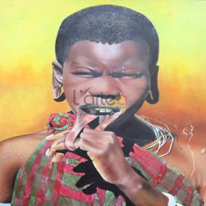 Art-Dakar-femme-massai