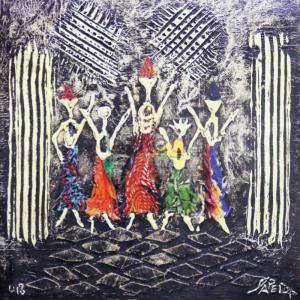 Art-Dakar-Pape-Diop Tableau - Synergie
