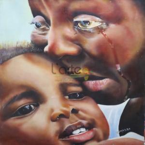 Art-Dakar-femme-peinture