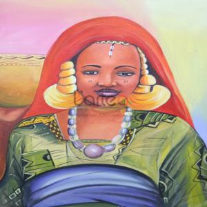 Art-Dakar-femme-africaine