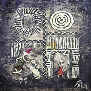 Art-Dakar -tableau pape diop