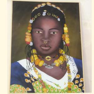 Art-Dakar - Peinture sous verre