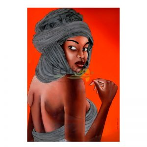 Art Dakar peintures sous-verre