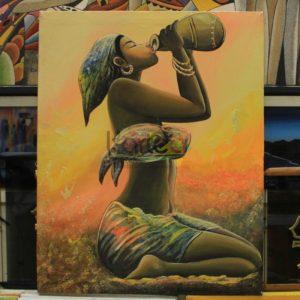 Art Dakar tableau peinture
